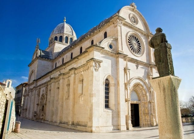 18782042 - saint james cathedral in sibenik -  site, dalmatia, croatia