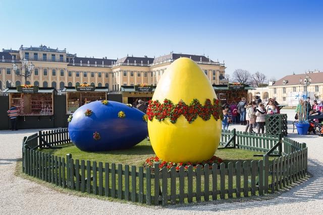 Uskršnji sajam u Beču, 1 dan