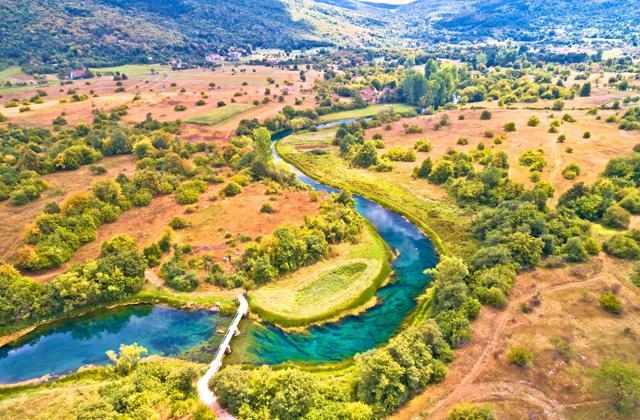 Dolina Gacke i Smiljan