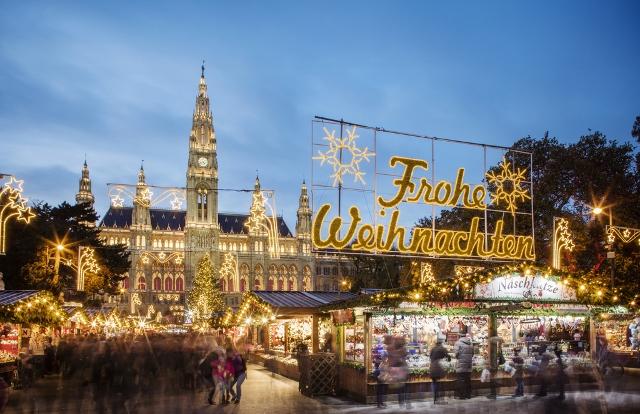 Advent u Beču, 1 dan