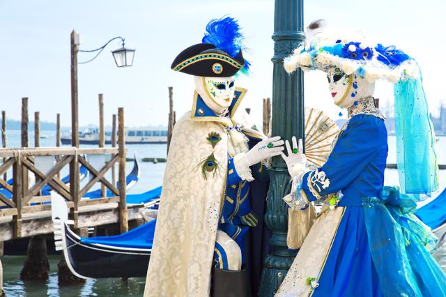 Karneval u Veneciji, 1 dan