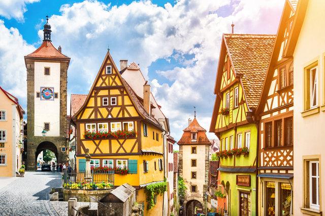 Bavarska bajka: Regensburg, Rothenburg, Nürnberg i Passau