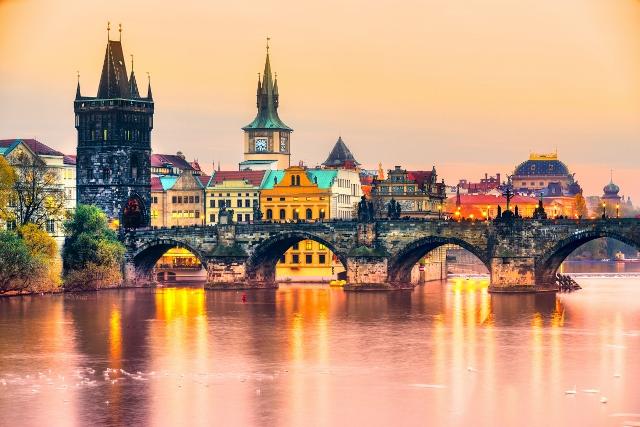 Valentinovo u Pragu i Češkom Krumlovu