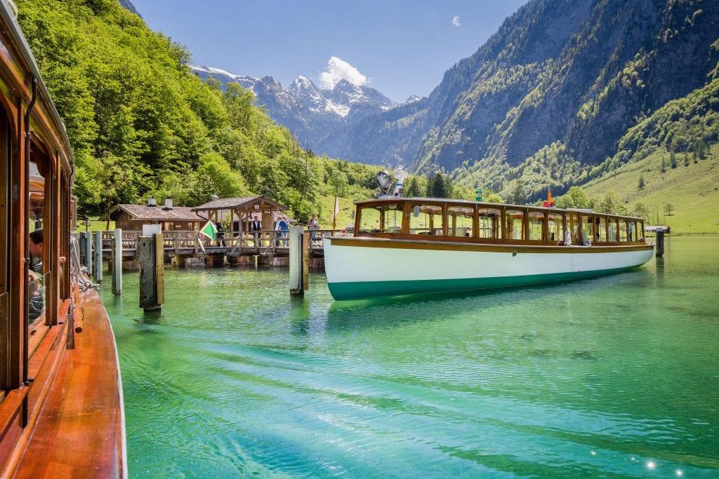 Berchtesgaden i Kraljevsko jezero
