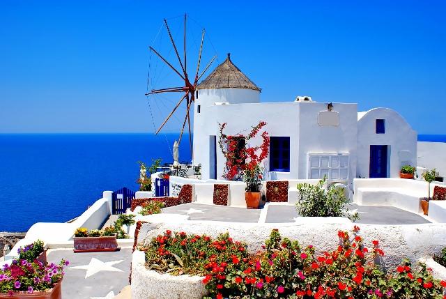Grčka - Santorini, Kamari
