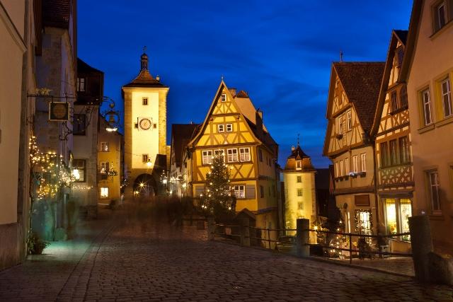 Adventska bajka Bavarske: Regensburg, Rothenburg, Nürnberg i Passau iz Splita