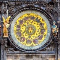37815820 - astronomical clock. prague. czech republic
