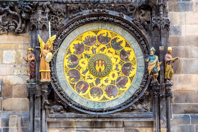 37815820 - astronomical clock. prague. czech republic