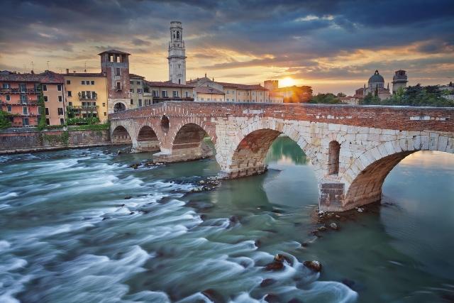 Verona i Venecija, polazak iz Splita