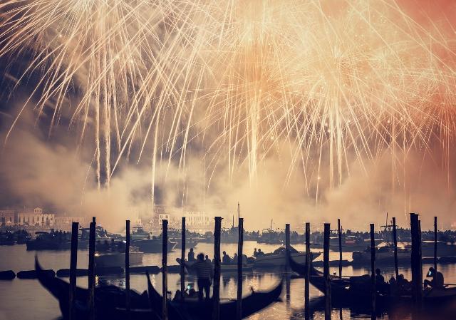 Burano, Murano i festival vatrometa Il Redentore u Veneciji