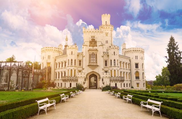 Dvorci južne Češke