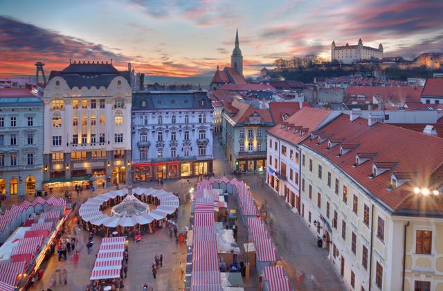 Advent u Bratislavi