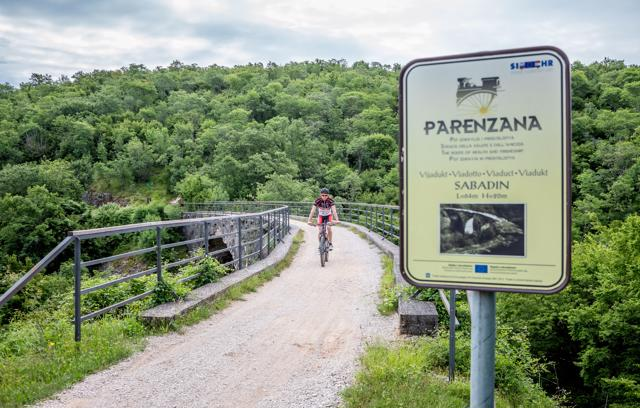 Parenzana: Vižinada - Motovun
