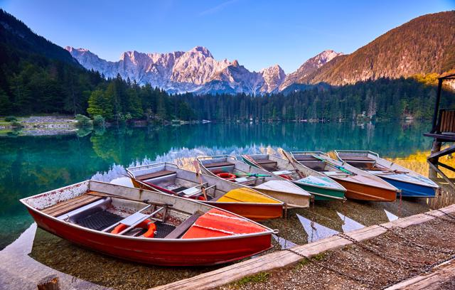 Julijske Alpe: Laghi di Fusine i jezero Jasna