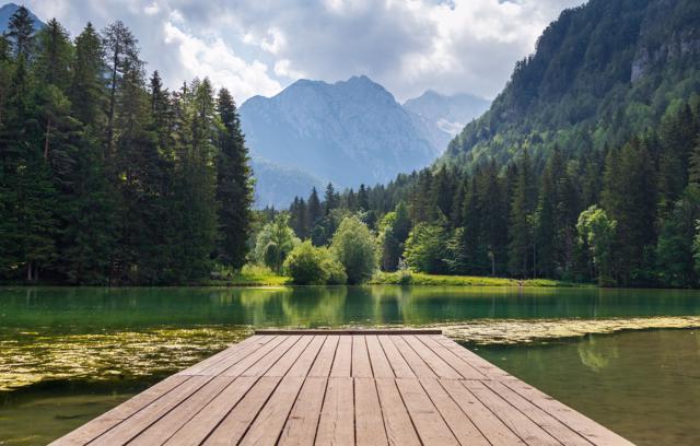 Škofja Loka i Planšarsko jezero