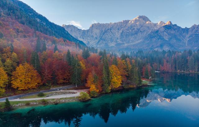 Jesen u Julijskim Alpama: laghi di Fusine i Kranjska gora